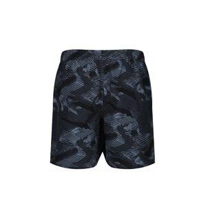 Pánské plavkové šortky Reebok 71020 Townley Swim Short studený šedý potisk M