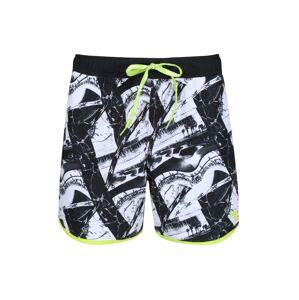 Pánské plavkové šortky Reebok 71034 Ferdy Swim Short Černá L