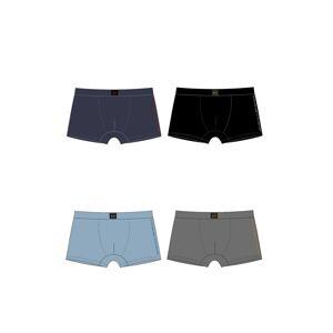 Pánské boxerky C+3 GMB-006 3XL-5XL Černá 3XL