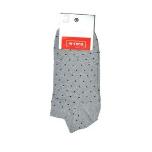 Dámské ponožky Milena puntíky 1146, 37-41 bílý 37-41