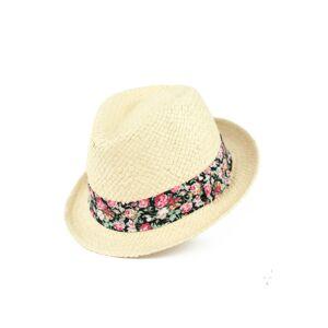 Dámský klobouk Art Of Polo 21153 Mary Ecru 57-59