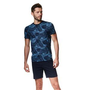 Pánské pyžamo Henderson 39256 Arcade kr/r M-2XL steel blue M