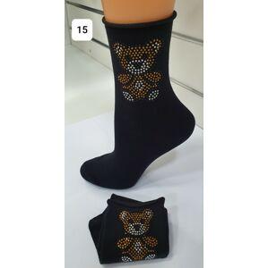 Dámské ponožky Magnetis 42 Bear 21/22 czarne uniwersalny