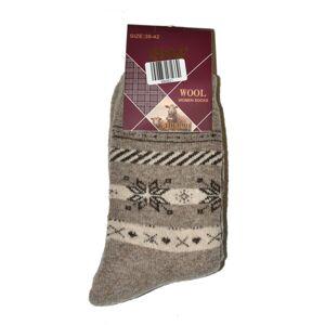 Dámské ponožky Ulpio GNG 9998 Thermo Wool Béžová 39-41