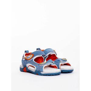 Modré dětské sandály 30