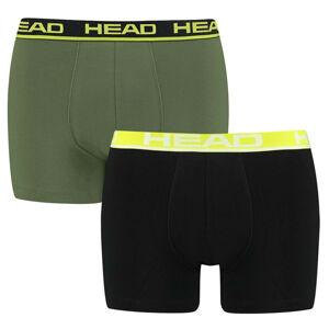 2PACK pánské boxerky HEAD vícebarevné (701202741 001) L