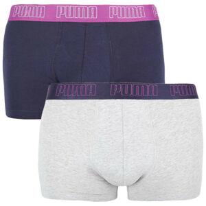 2PACK pánské boxerky Puma vícebarevné (100000884 022) L