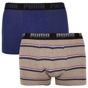 2PACK pánské boxerky Puma vícebarevné (100001139 002) M