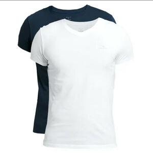 2PACK pánské tričko Gant modré/bílé (901002118-109) M