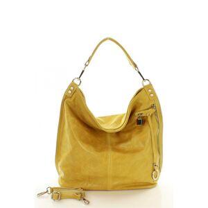 Přírodní kožená taška model 107797 Mazzini  universal
