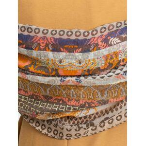 Vzorovaný béžový šátek ONE SIZE