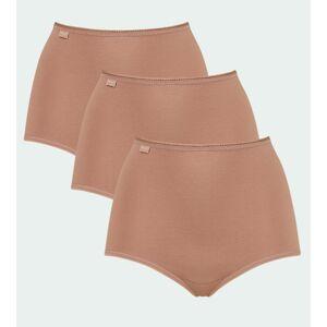 Dámské vysoké kalhotky 24/7 Cotton Maxi C3P - BRUSH - SLOGGI BRUSH - SLOGGI BRUSH 40