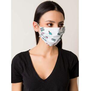 Světle modrá opakovaně použitelná ochranná maska ONE SIZE