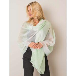 Zářivě zelený hedvábný šátek ONE SIZE