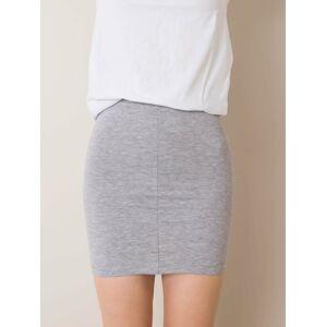 Bavlněná sukně pro dívky v šedé barvě 110-116