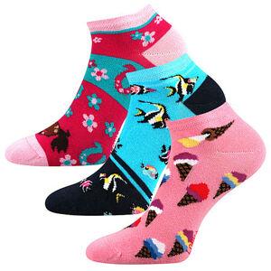 3PACK dětské ponožky Lonka vícebarevné (Dedonik - Mix B) 30/34