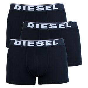 3PACK pánské boxerky Diesel černé (00ST3V-0JKKB-E4101) M