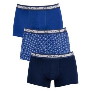 3PACK pánské boxerky Gant modré (902113253-436) M