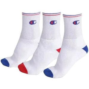 3PACK ponožky Champion bílé v krabičce (Y0829) S