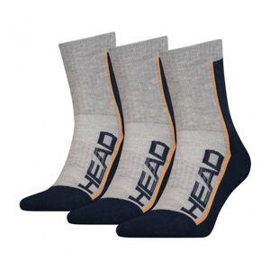 3PACK ponožky HEAD vícebarevné (791010001 870) 39-42