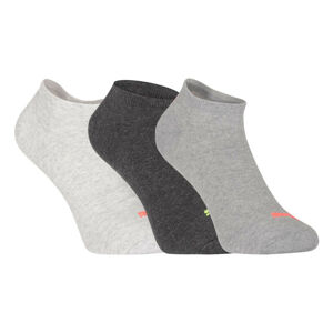 3PACK ponožky Puma šedé (261080001 017) 43-46