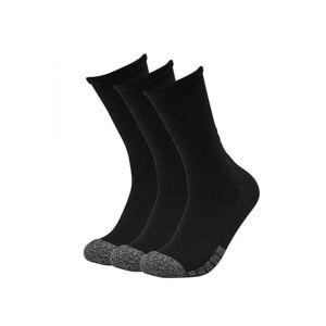 3PACK ponožky Under Armour černé (1346751 001)