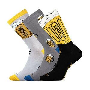 3PACK ponožky VoXX vícebarvné (PiVoXX mix 2) 43-46
