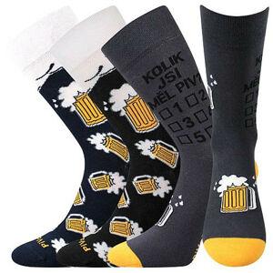 3PACK ponožky VoXX vícebarvné (PiVoXX mix 6) 43-46