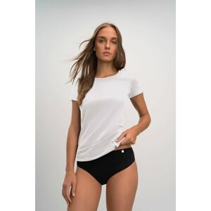 Vamp - Pohodlné jednobarevné dámské triko 03105 - Vamp white l