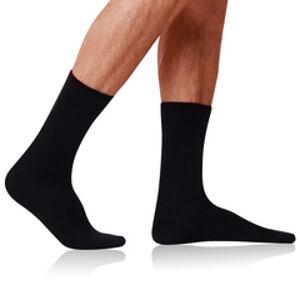 Pánské bavlněné ponožky COTTON MAXX MEN SOCKS - BELLINDA - černá 39 - 42