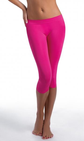 Dámské sportovní legíny 3/4 donna active-fit Barva: Fucsia, Velikost: S/M