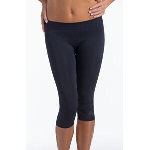 Dámské sportovní legíny 3/4 donna active-fit Barva: Černá, Velikost: S/M