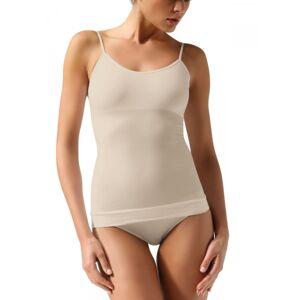 Košilka se špagetovými ramínky bezešvá Controlbody Basic Barva: Tělová, Velikost: S/M