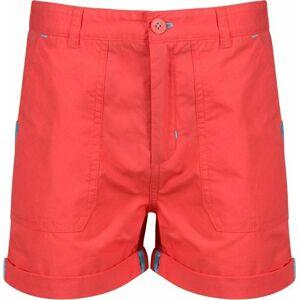 Dětské šortky Regatta Damzel Short 6QM červené 11-12 let
