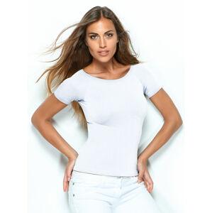 Triko dámské bezešvé T-shirt Valencia Intimidea Barva: Bílá, Velikost S/M