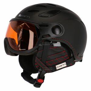 Lyžařská helma CAIRN COSMOS PHOTOCHROMIC - Mat Black - 2117 61-64
