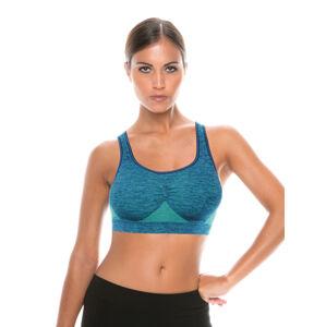 Dámský sportovní top space 3 donna active-fit Barva: VERDE-BLUE, Velikost: S/M