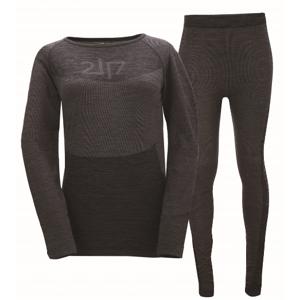 FALEBO - dámské bezešvé spodní prádlo - dk grey - 2117 40/42