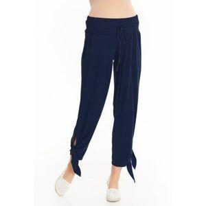 Těhotenské kalhoty Teris tmavě modré  XS