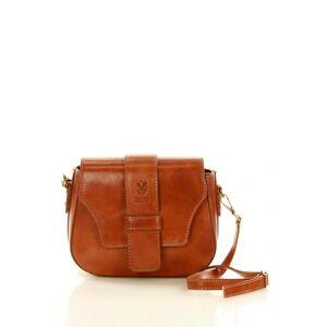 Přírodní kožená taška model 119117 Mazzini  universal