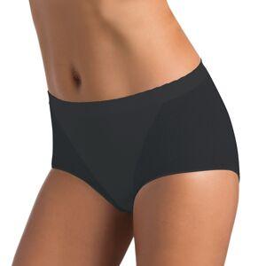 Kalhotky s vyšším pasem bezešvé Culotte Setificato Daily Intimidea Barva: Černá, Velikost M/L