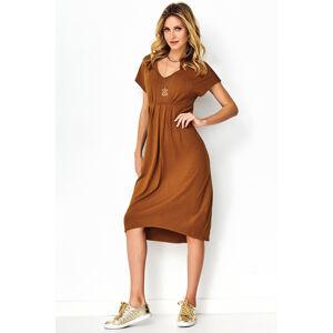 Denní šaty model 141851 Makadamia  42
