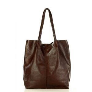 Přírodní kožená taška model 146909 Mazzini  universal