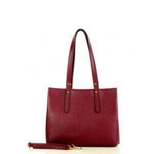 Přírodní kožená taška model 148486 Mazzini  UNI velikost