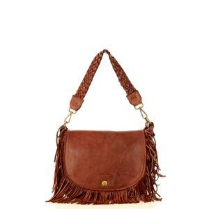 Přírodní kožená taška model 149477 Mazzini  UNI velikost