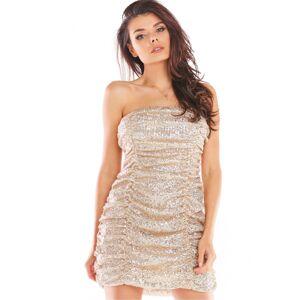 Krátké šaty  model 150761 awama  L