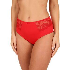 Felina Choice kalhotky se zvýšeným pasem červená 50