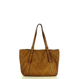 Přírodní kožená taška model 158339 Mazzini  univerzální