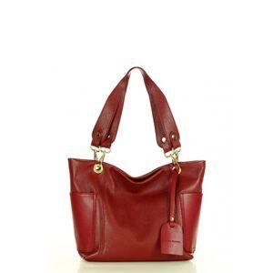 Přírodní kožená taška model 158347 Mazzini  univerzální