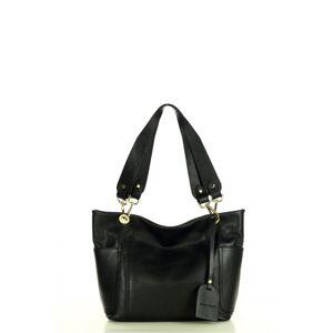 Přírodní kožená taška model 158350 Mazzini  univerzální